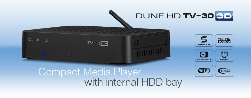 Dune hd tv-303d ultimate 3d multimedia player