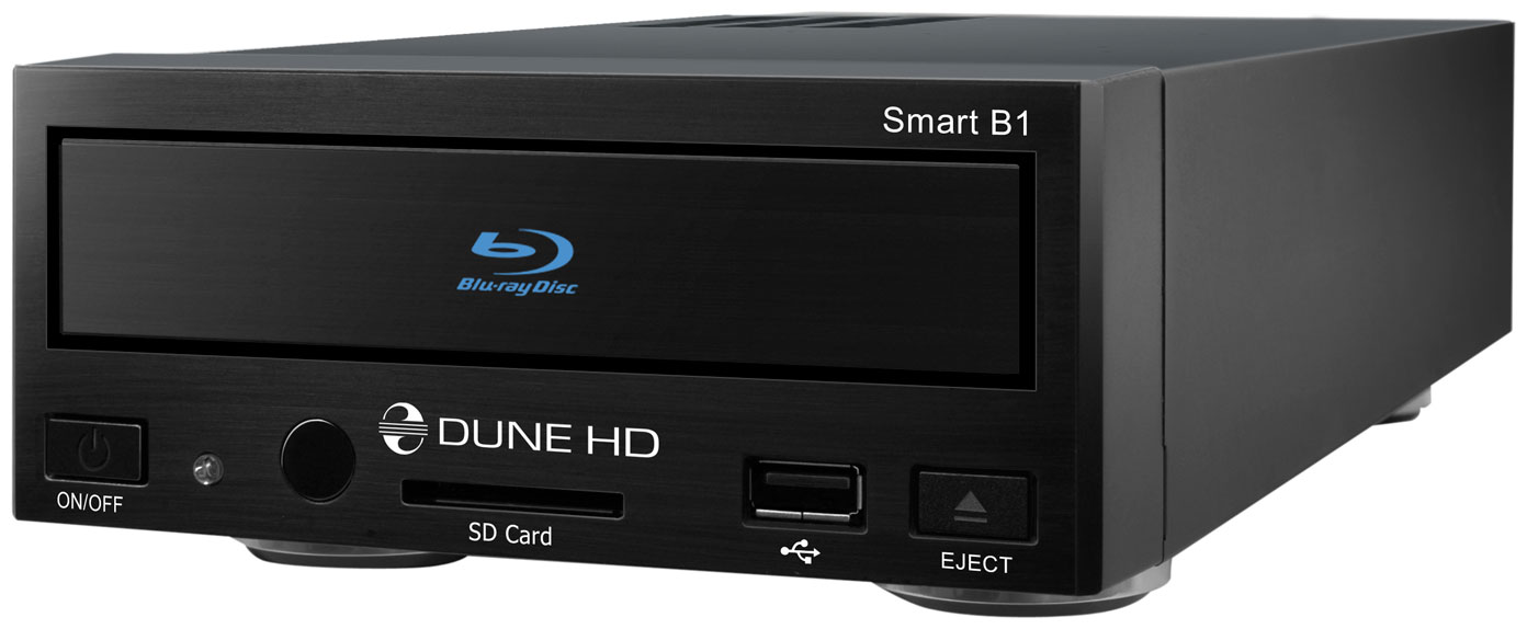 Dune HD Smart B1 is an all-in-one solution for up to Full HD (1080p) video  playback. This media player is compact, features a built- in low-noise  optical ...